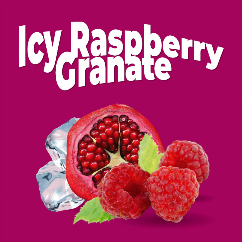 Vollspektrum Icy Raspberry Granate