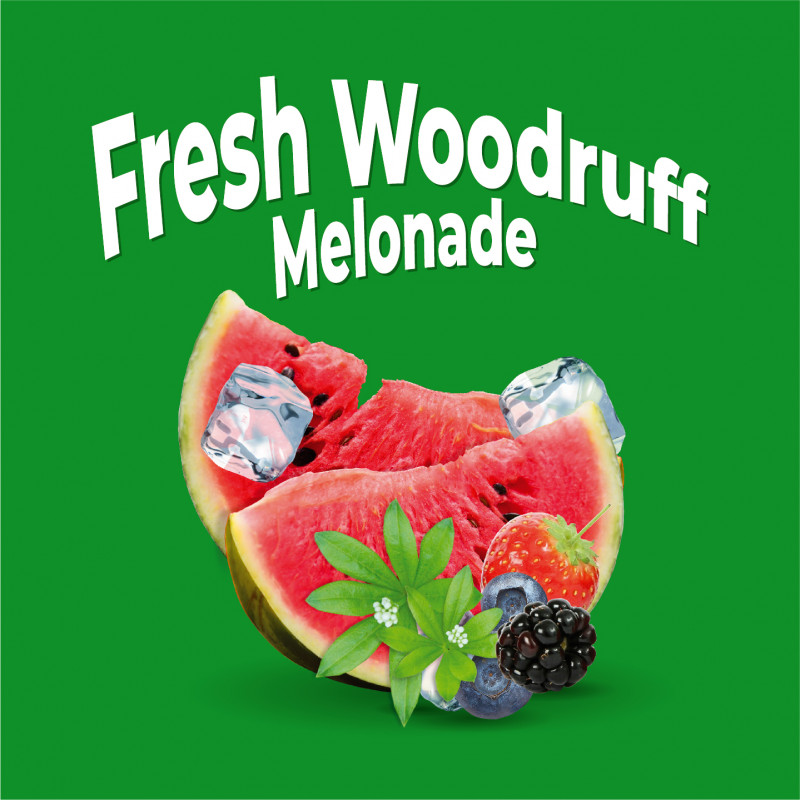Fresh Woodruff Melonade