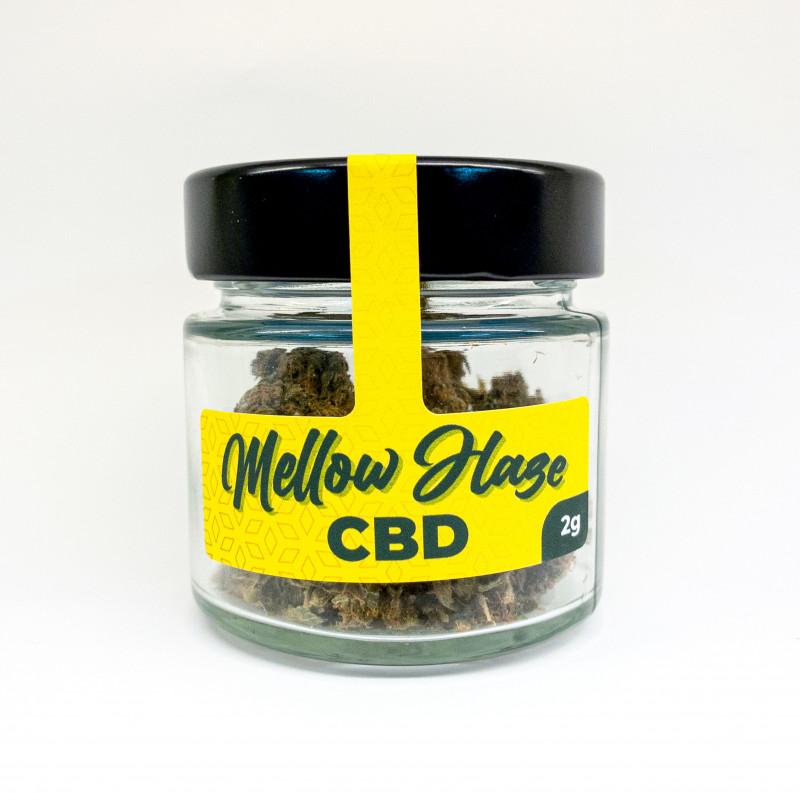 CBD Aroma Blüten 2g - Mellow Haze